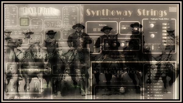 The Magnificent Seven Main Title and Calvera Elmer Bernstein Syntheway Strings DAL Flute Aeternus Brass Percussion VST Plugins