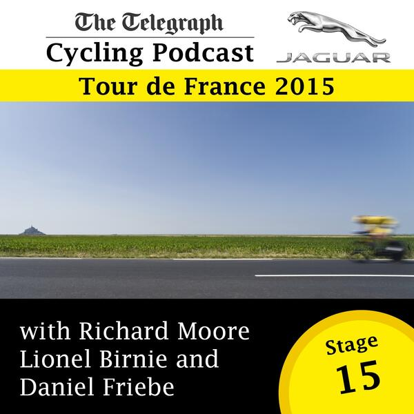 Tour de France stage 15 logo