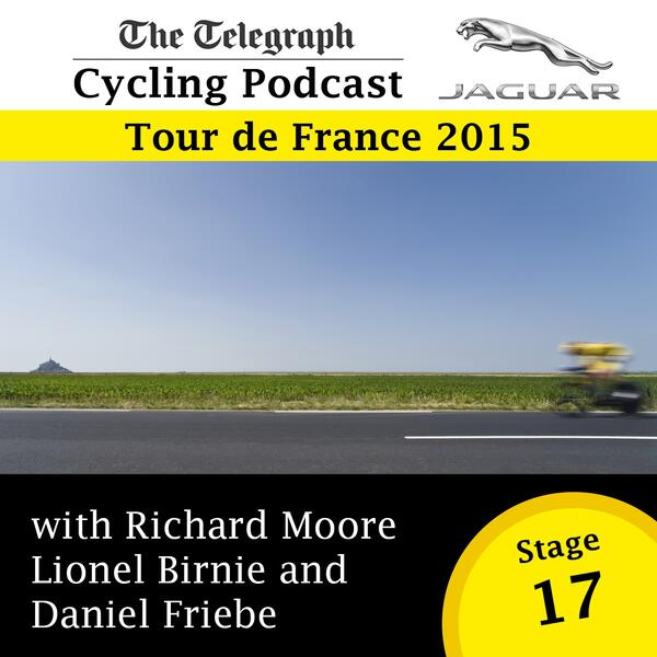 Tour de France stage 17 logo