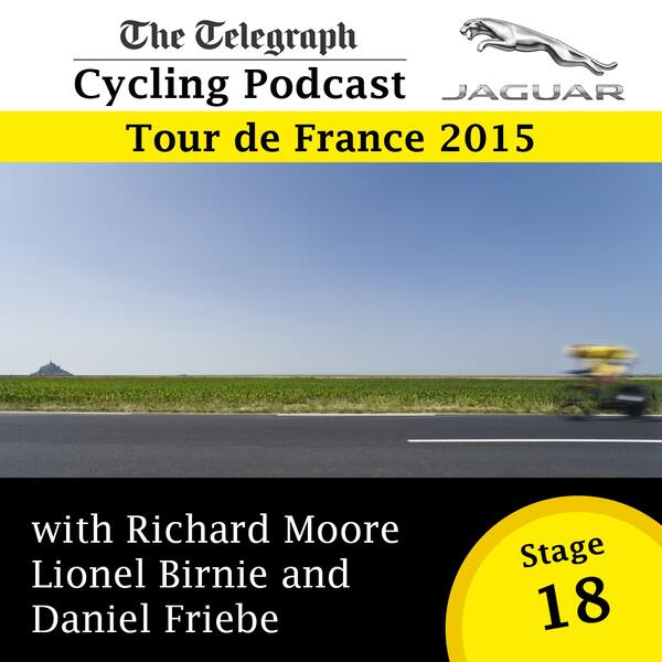 Tour de France stage 18 logo