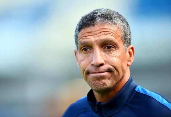 Chris Hughton smile Getty