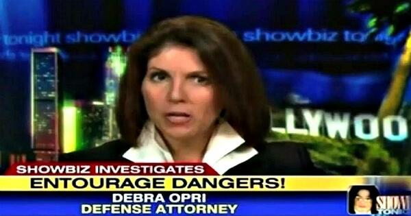 Debra Opri on Showbiz full screen