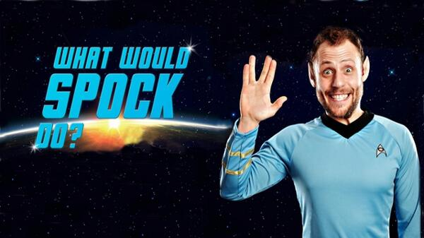 What would spock do web image