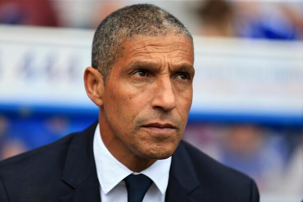 Chris Hughton concerned Getty