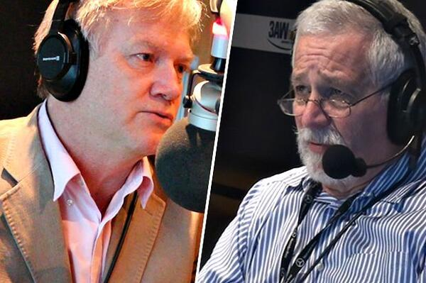 Bolt and Neil Mitchell