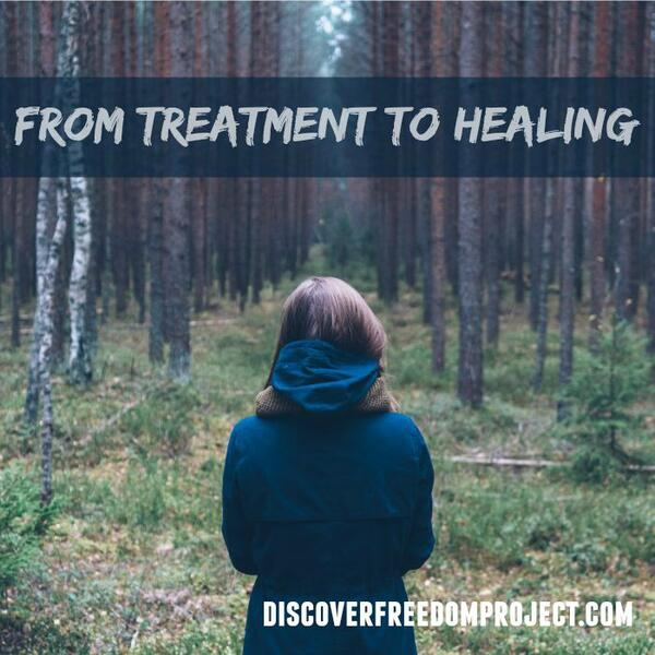 from treatment to healing