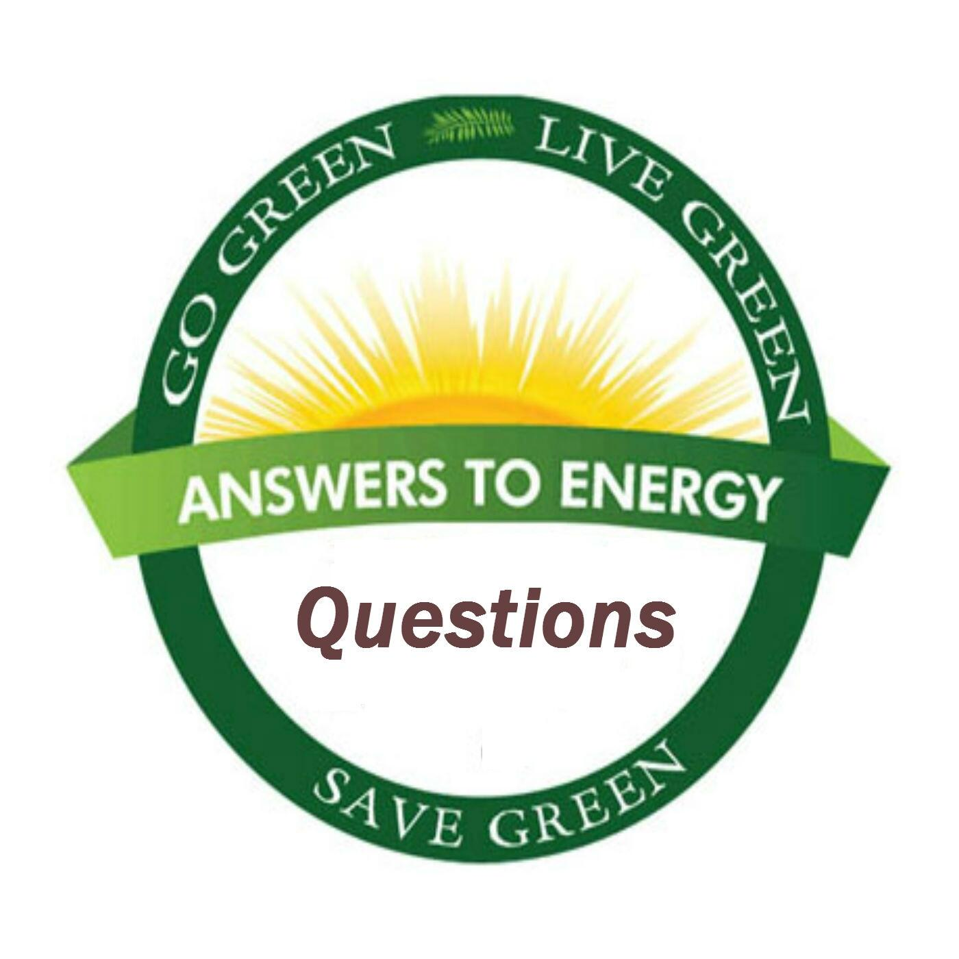 Answers To Energy Expo