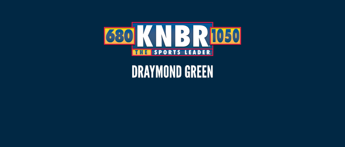 1-7 Draymond Green says it is a special honor to win Player of the Week