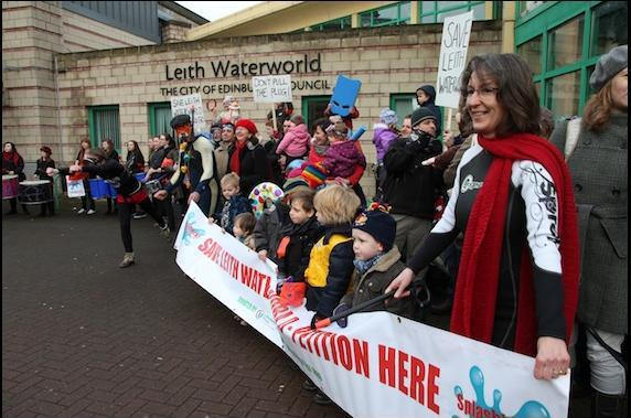 Save Leith Water World