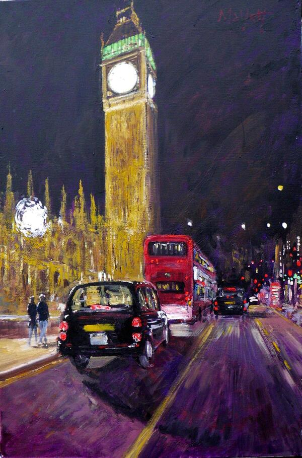 westminster night