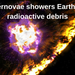 Supernova showers Earth with radioactive debris HQ