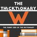 thicktionary letters W