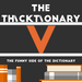 thicktionary letters V