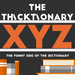 thicktionary letters XYZ
