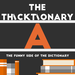 thicktionary letter A