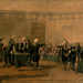 Signing of Declaration of Independence by Armand-Dumaresq c1873