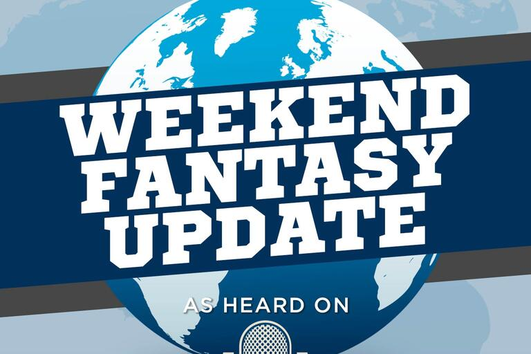 Audioboom / Weekend Fantasy Update