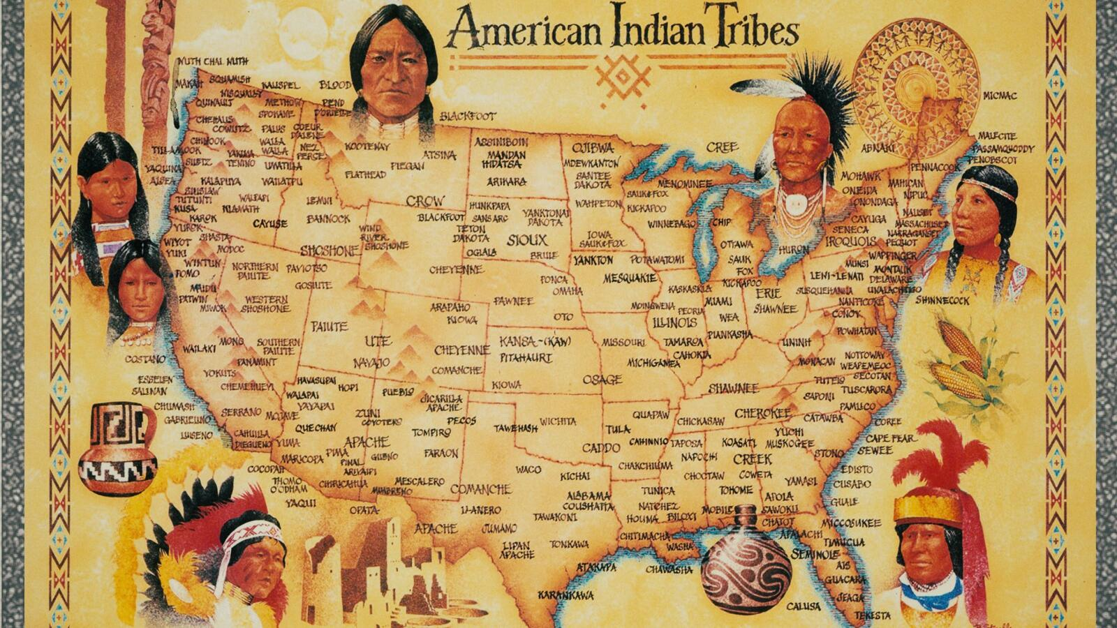 a report on the iroquois an indian tribe in north america Native america continues to struggle to recover from a long history of north dakota (889 percent) american indian population and labor force report.
