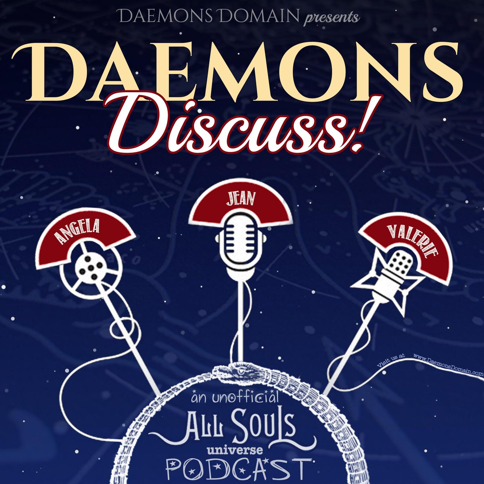 Daemons Discuss! The All Souls Trilogy by Deborah Harkness + Related Topics