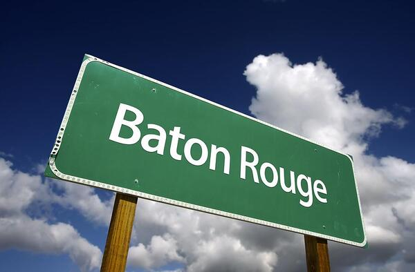bigstock Baton Rouge Green Road Sign 6140397