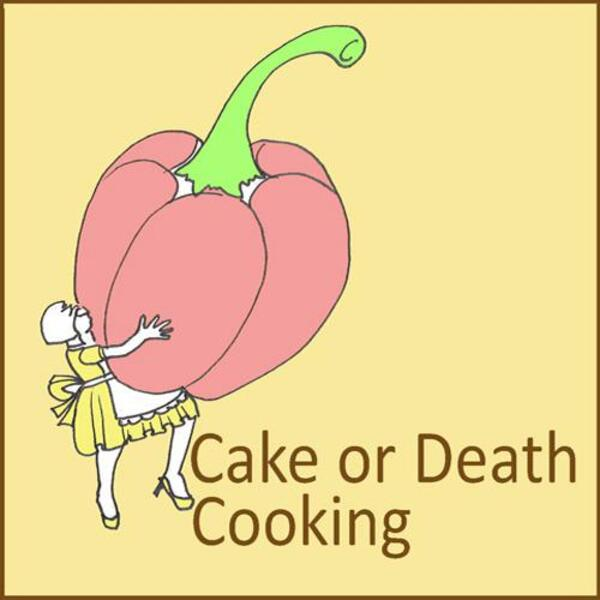 Cake or Death Logo Pink