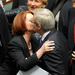 Gillard kissing Rudd
