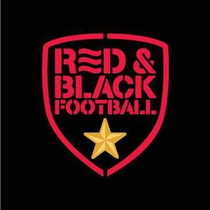 Red & Black Football