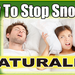 How-To-Stop-Snoring-Naturally