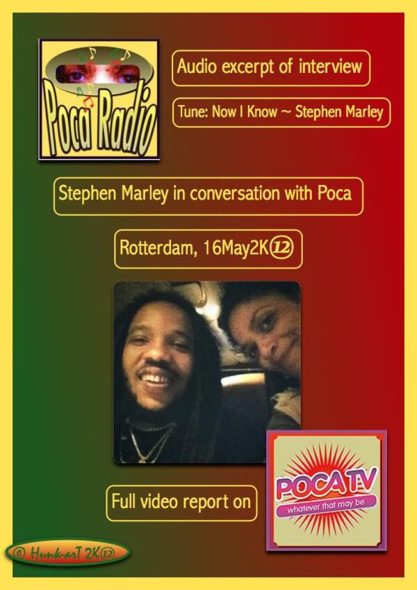 Audio excerpt stephenmarley intvu 16may2K12