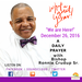 A Daily Prayer with Bishop Crudup -We are Here - Monday 12262016
