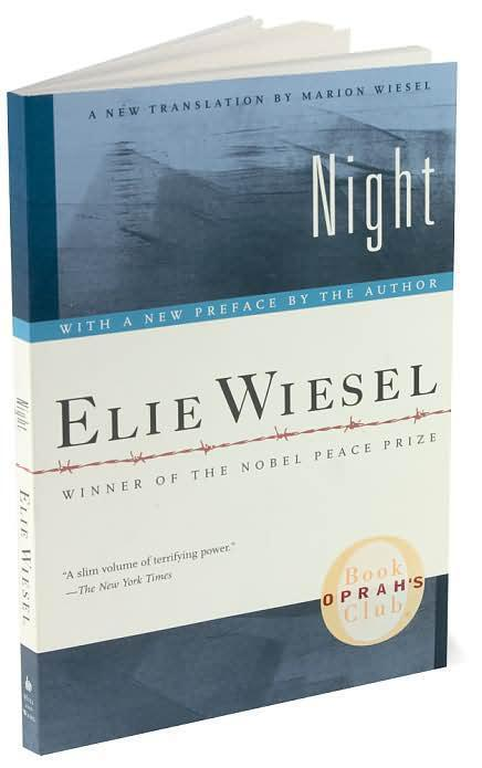 a literary analysis of the book night by elie wiesel Literature / night / does elie wiesel make a distinction between the two is it possible to think about this book as truth without always being 100% accurate.
