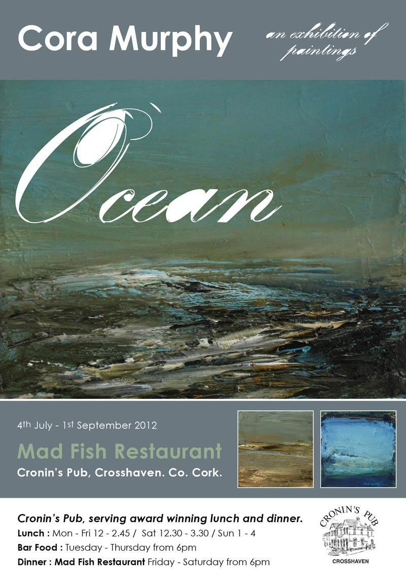Audioboom artist cora murphy talks about her upcoming for Mad fish restaurant