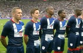 Craig Bellamy GB National Anthem