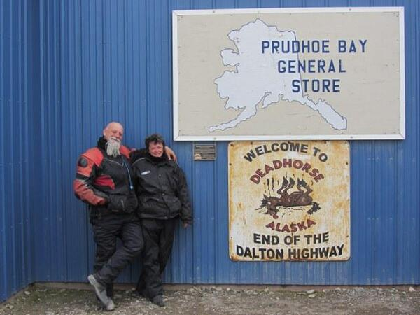Day Two - Marian Creek to Deadhorse - quite an achievement - bottom to top of the Americas 090812 640x480