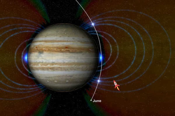 98: Juno probes the depths of Jupiter's Great Red Spot - SpaceTime with Stuart Gary series 20 Episode 98