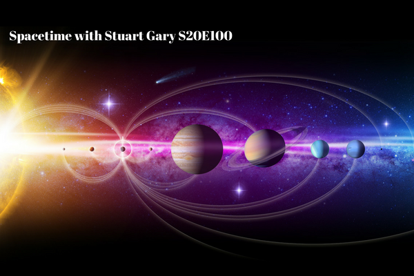 100: NASA looking at missions to a comet and to Saturn's moon Titan - SpaceTime with Stuart Gary S20E100