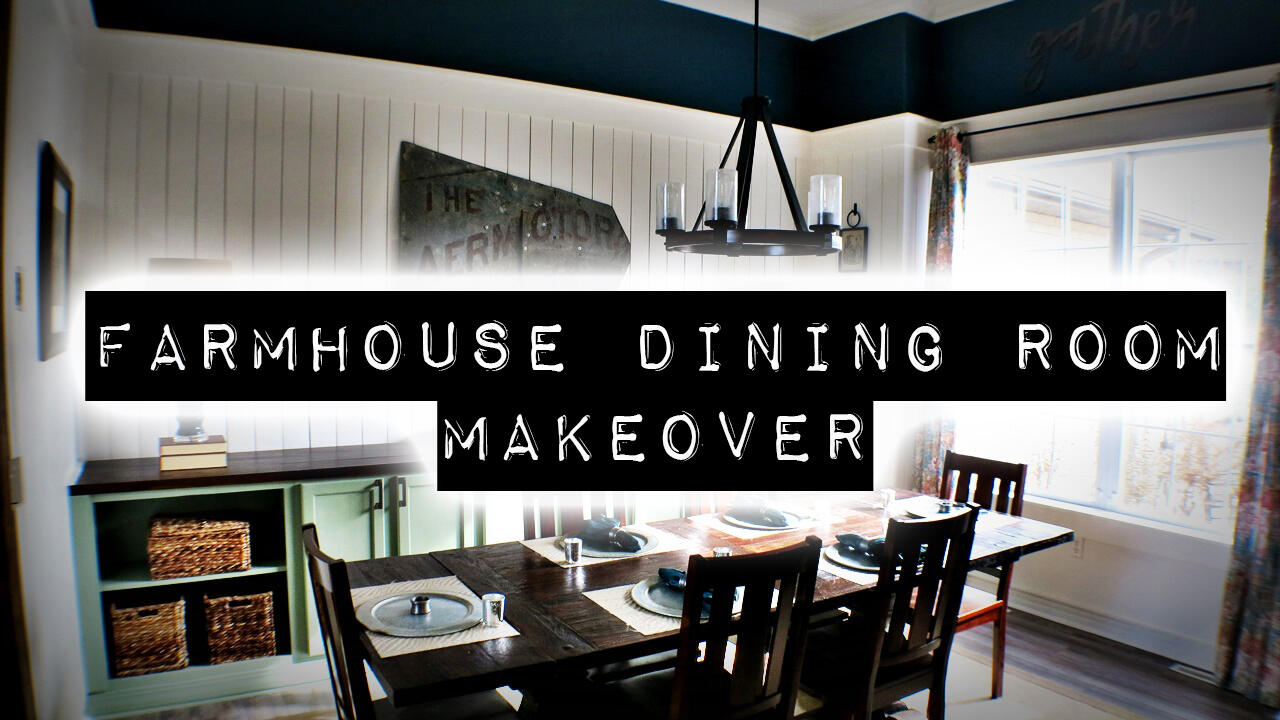 Farmhouse Dining Room Makeover | Junkin' With Jenny