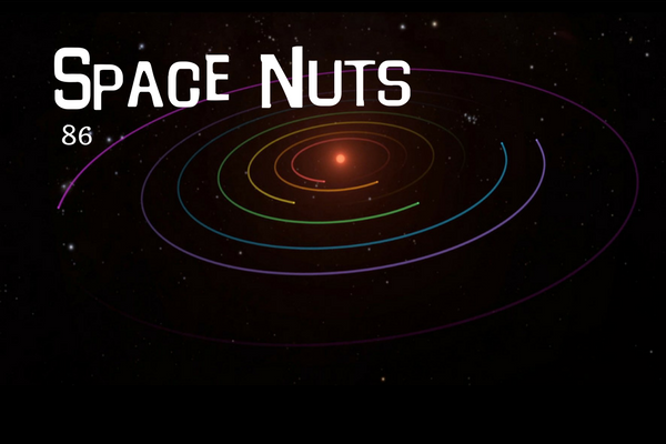 86: Exo planets in a musical orbit? - Space Nuts with Dr. Fred Watson & Andrew Dunkley