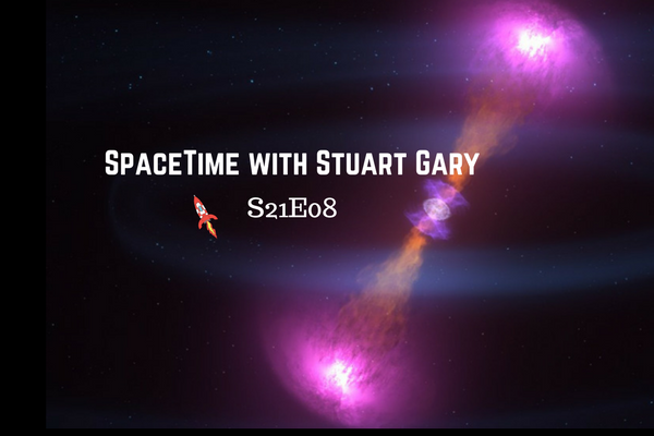 8: Neutron star merger poses new puzzles - SpaceTime with Stuart Gary Series 21 Episode 08