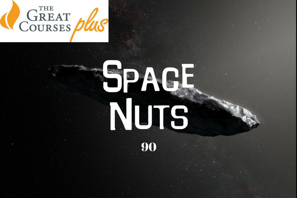 90: The Tumbling, Tumbling Asteroid - Space Nuts with Dr Fred Watson & Andrew Dunkley