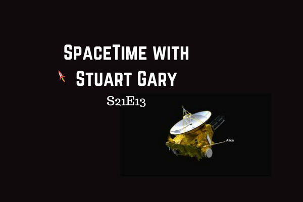 13: Does New Horizon's next target have a moon? - SpaceTime with Stuart Gary Series 21 Episode 13