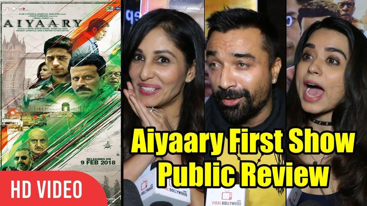 Aiyaary Movie Public Review
