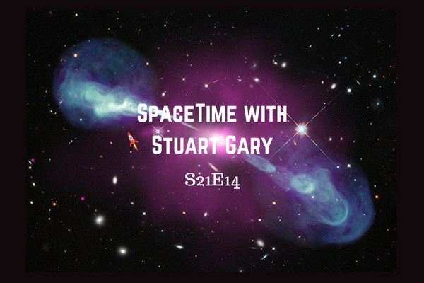 14: Supermassive black holes out growing their galaxies - SpaceTime with Stuart Gary series 21 Episode 14