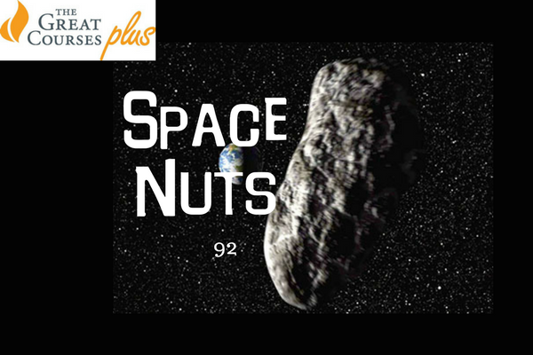 92: Asteroid CB2018, gravity's effect on time and a complex listener question - Space Nuts with Dr Fred Watson & Andrew Dunkley