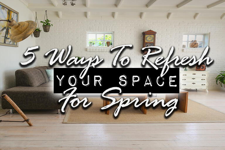 5 Ways To Refresh Your Space For Spring | DIY U0026 Home Design Podcast