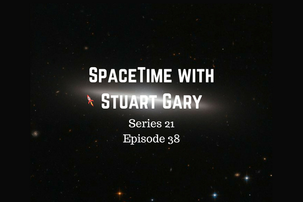 38: Galaxies get bigger and puffier as they age - SpaceTime with Stuart Gary Series 21 Episode 38