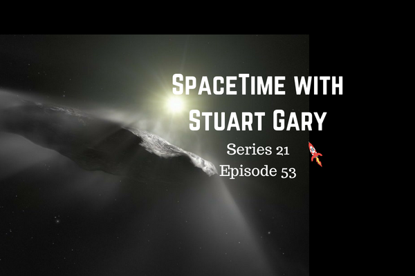 53: Interstellar asteroid may actually be a comet - SpaceTime with Stuart Gary Series 21 Episode 53