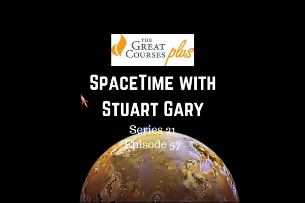 57: Another possible volcano on Jupiter moon Io - SpaceTime with Stuart Gary Series 21 Episode 57
