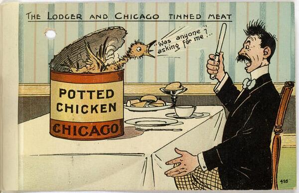 Audioboo - Potted Chicken Argument