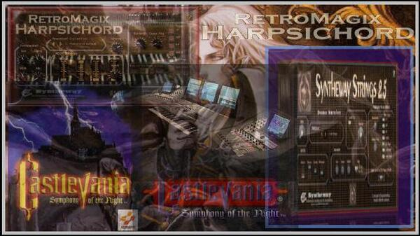 Wood Carving Partita Castlevania Symphony Of The Night RetroMagix Harpsichord Syntheway Strings VST Plugins